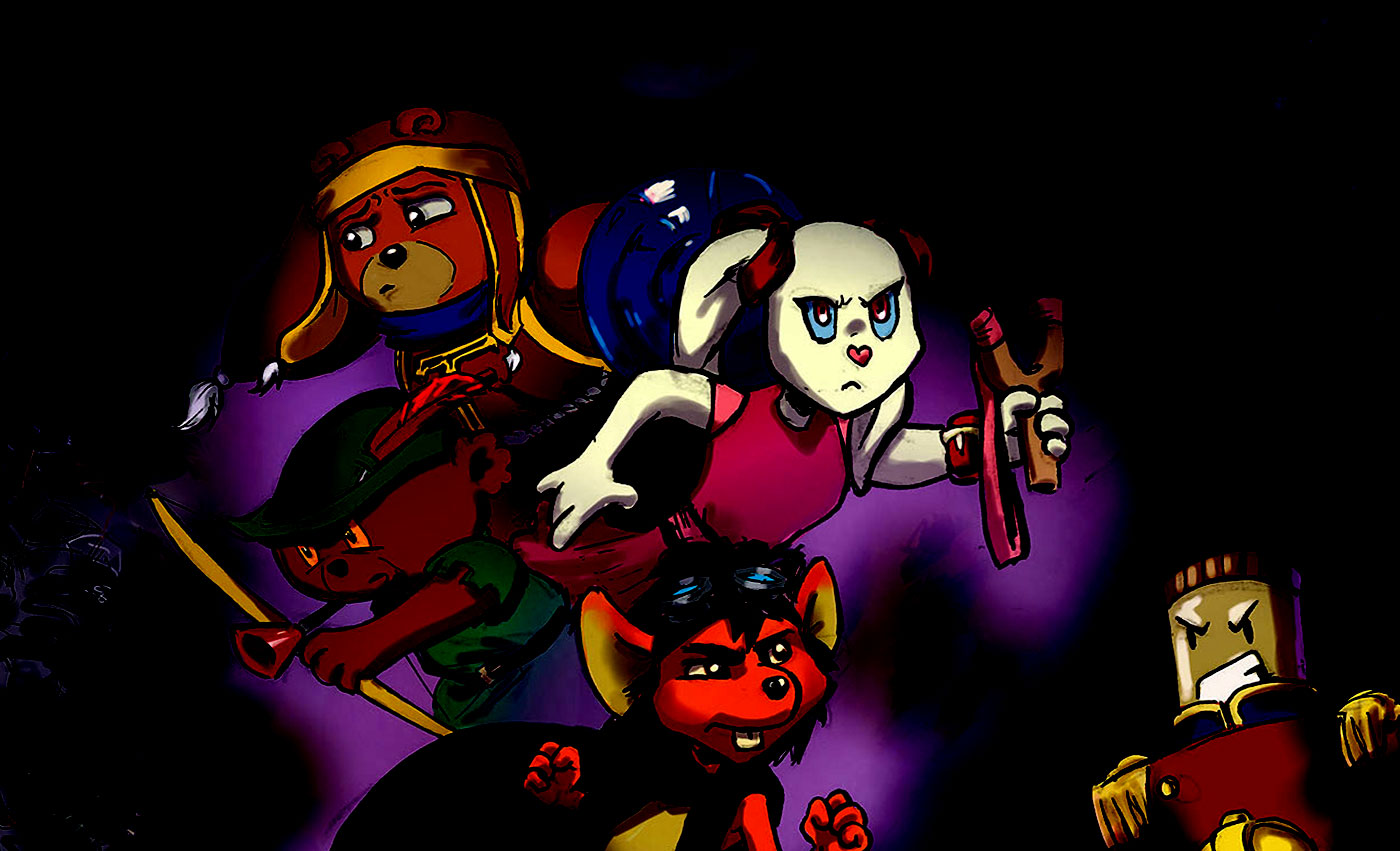 Awakenings - a ragtag band of cuddly toys on a quest to save their child from the Lord of Nightmares